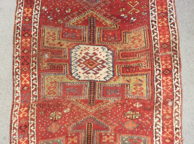 Antique East Anatolian Erzurum Rug Size .350x140cm