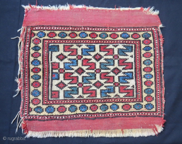 Antique West Anatolian Bergama Bagface Size.48x30cm