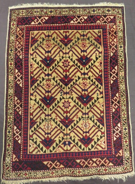 Antique Avar Rug Size.112x80cm