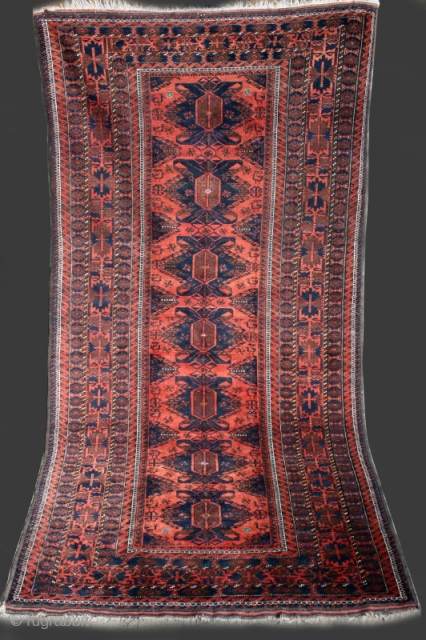 Baluch (Timuri)   late 19th.   excellent condition   274cm x 142cm (9 x 4,7)
