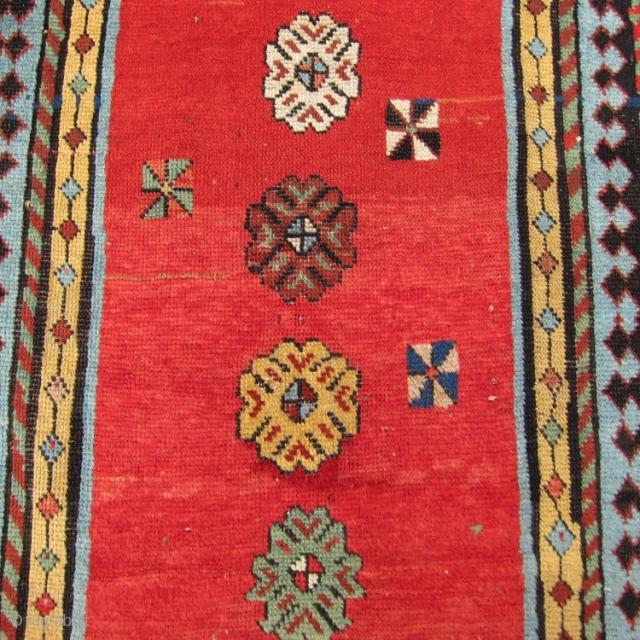 "Southeast Caucasian rug 3'3"" x 6'11"""