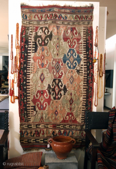 Rare Anatolian Kilim.