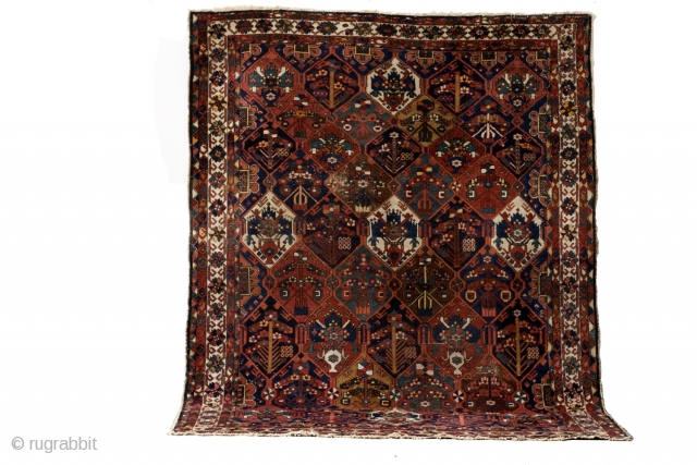 Bachtiar, 290 x 225 Cm. 9.6 ft. x 7.5 ft. 