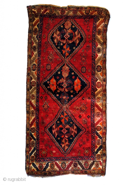 Antique Armenian Kazak, Karabach area. 