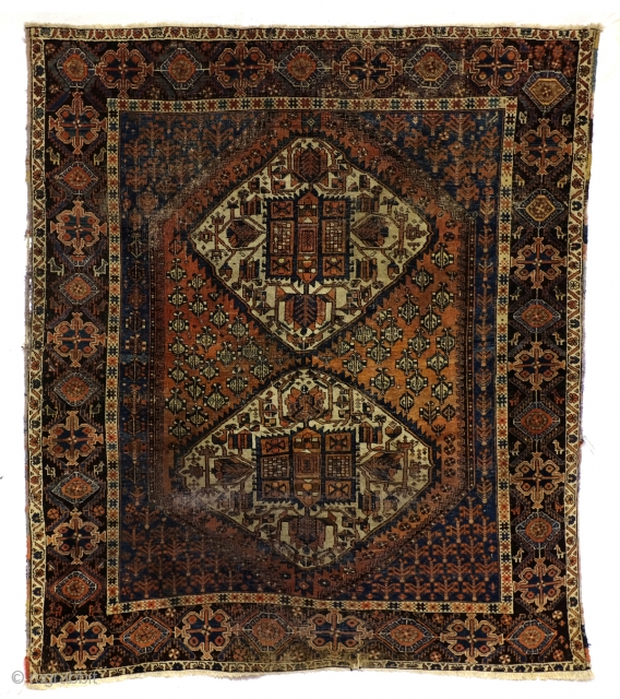 Afshar nomads, 20th. century  rug. 