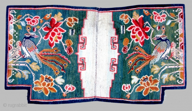 Tibetan Peacock Tahden (horse carpet) TC24