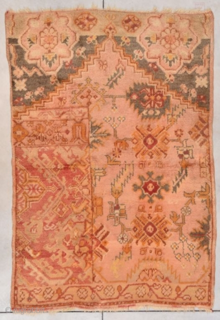 #7765 Oushak Weigerah  TThe buyer pays the shipping including insurance. http://www.antiqueorientalrugs.com/turkish2.htm