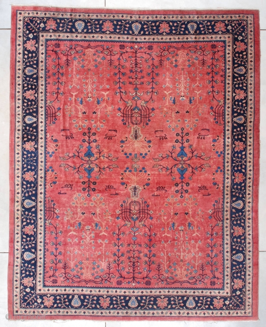 #7469 Antique Laristan Oriental Rug