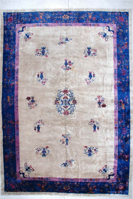 #6150 Antique Feti Chinese Rug