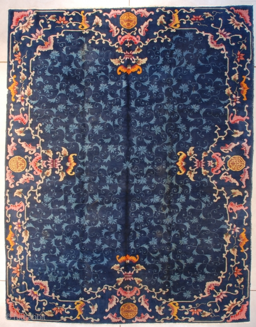 #7665 Art Deco Chinese Rug