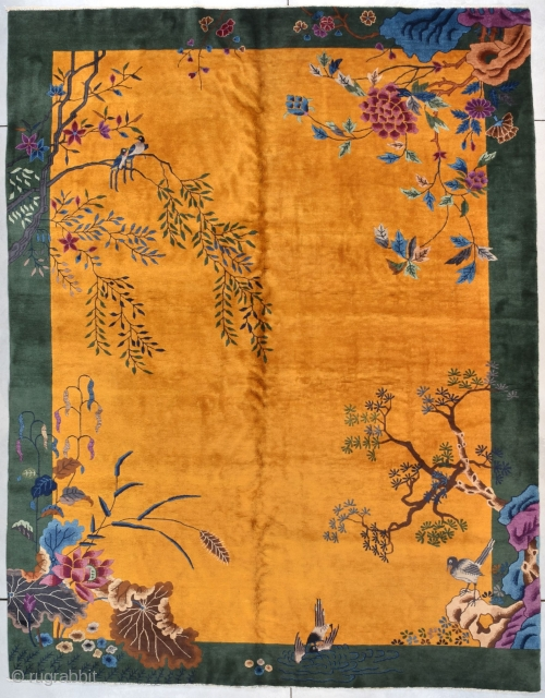 #7782 Art Deco Chinese Rug