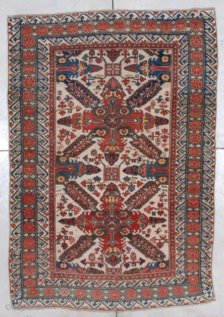 #5626 Seyhore Kuba Antique Caucasian Rug