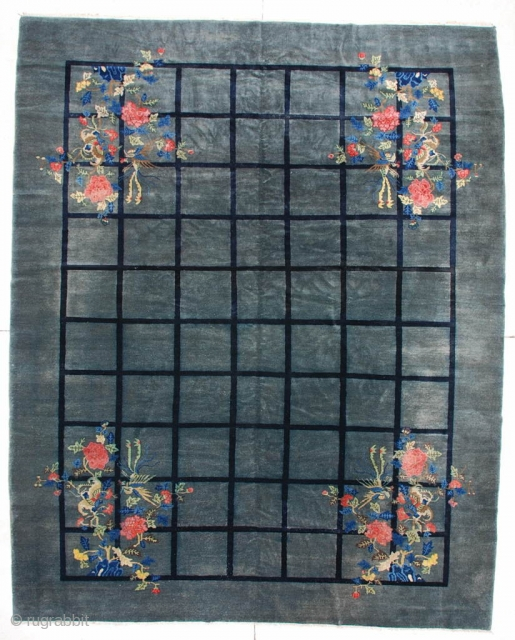 #6111 Antique Peking Chinese Rug 
