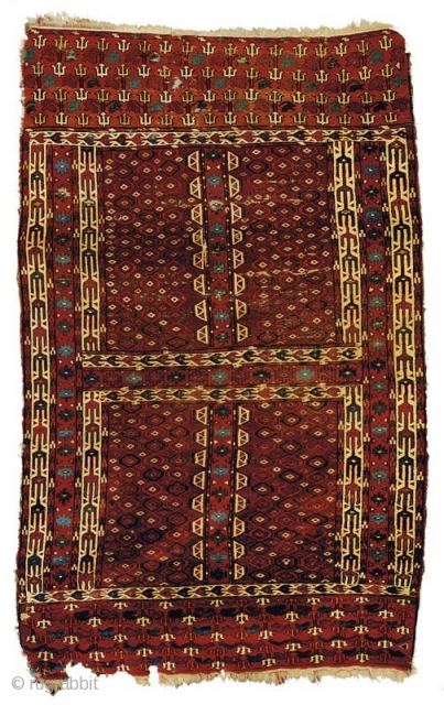 Rare Ensi with Design Usually Found on Ok-Bashes-Areas of Blue Cotton Wefting, Ca.1800