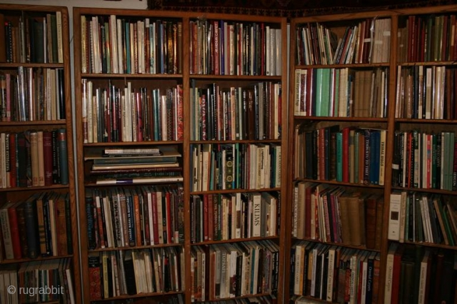 Thousands of new, used, rare, out-of-print, and hard-to-find titles.  Books, auction catalogs, magazines, CDs and DVDs on Oriental rugs and ethnographic textiles and the cultures who made them.