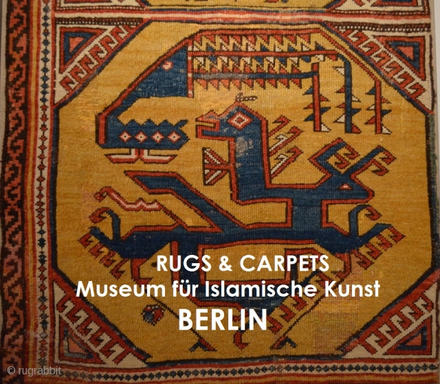 http://www.rugrabbit.com/content/rugs-and-carpets-museum-islamic-art-berlin rugrabbit would like to thank Felix Elwert for sharing his original images of this important collection of rugs and carpets from the Museum of Islamic Art in Berlin Click the link  ...
