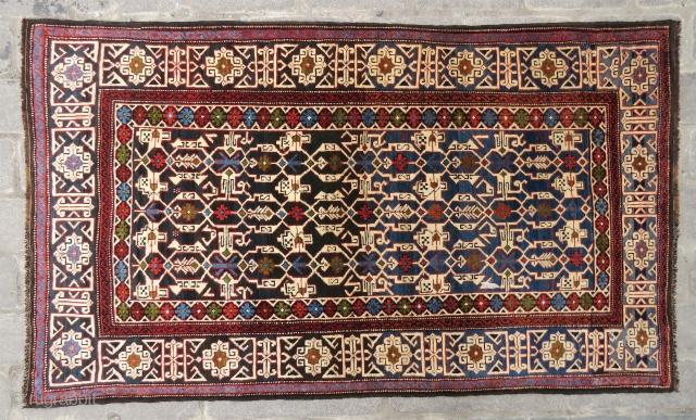 Caucassian Shirvan Konagent wonderful colors and excellent condition all original size 1,78x1,03 cm Circa 1900