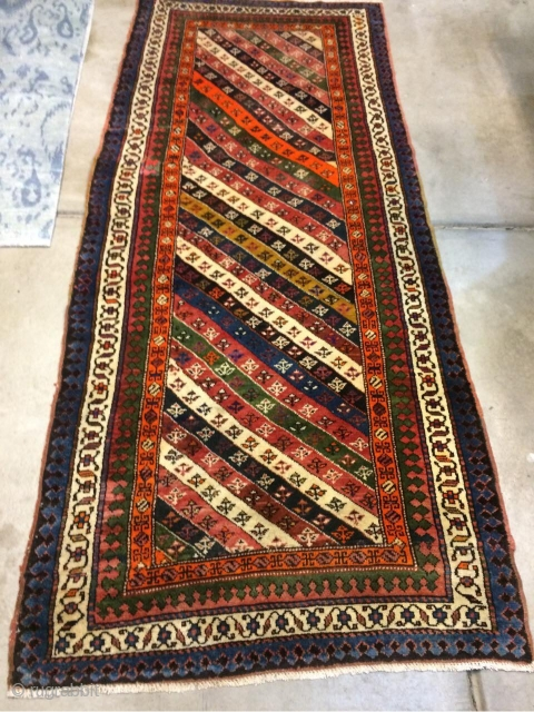 old kurt rug very goot condesyon and goot coler size.130-350