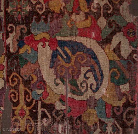Caucasian carpet fragment