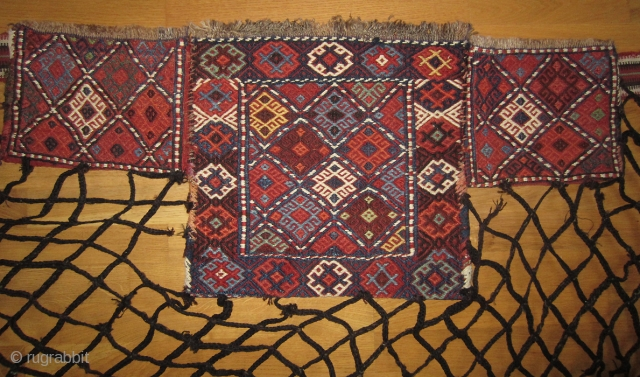 Spoon bag (Qashoqdan), Shahsavan, Moghan area NW Persia/S Caucasia 