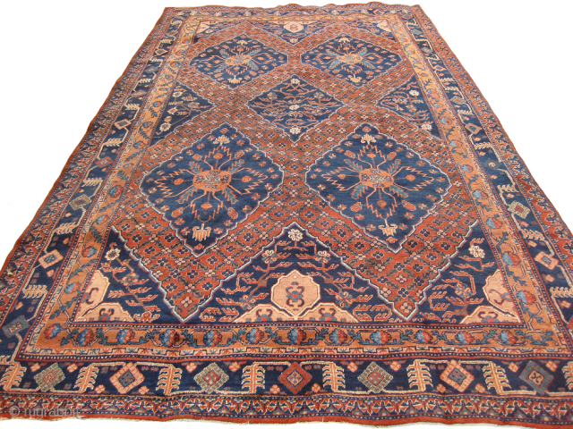 Unusual old Khotan rug, mint condition size: 14 x 7 ft. approx