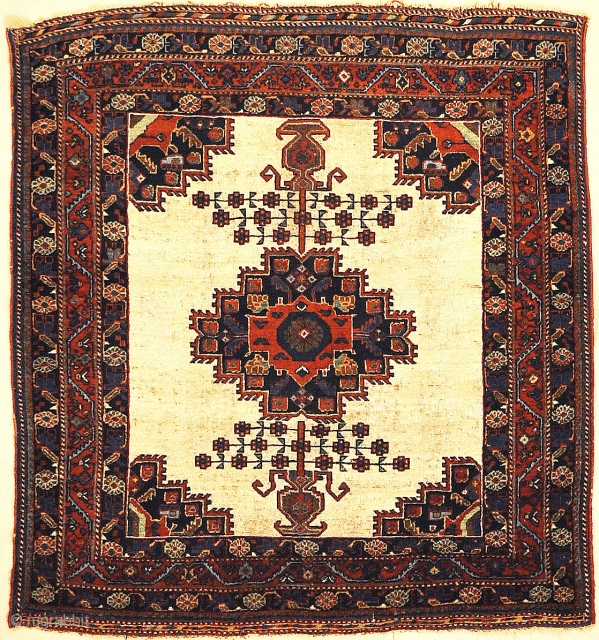 Rare Antique Persian Afshar Rug. Antique Persian Afshar rugs are similar to antique Caucasian rugs in their rug colors and styles. Using geometric patterns and medallions with diamond patterns. Antique Afshar rug  ...