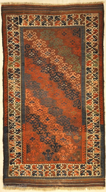 Unique Colorful Circa 1890s Beluch