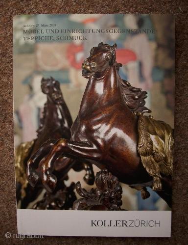 Koller-Katalog, 26.Maärz 2009, Teppiche und Einrichtingsgegenstände
