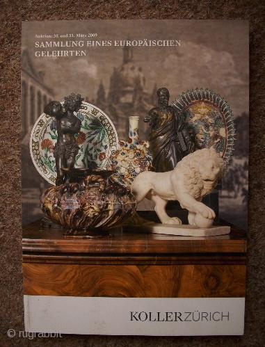 Koller-Katalog, 30/31. März 2009. Sammlung eines europäischen Gelehrten