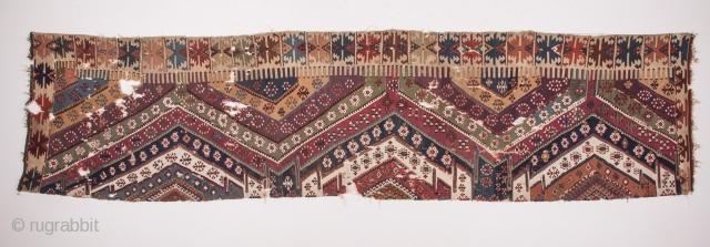 Eastern Anatolian Kilim Half 94 x 380 cm