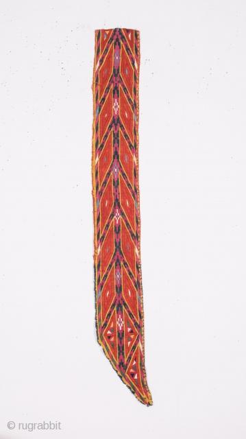 Turkmen Tekke Chyrpy Collar Fragment