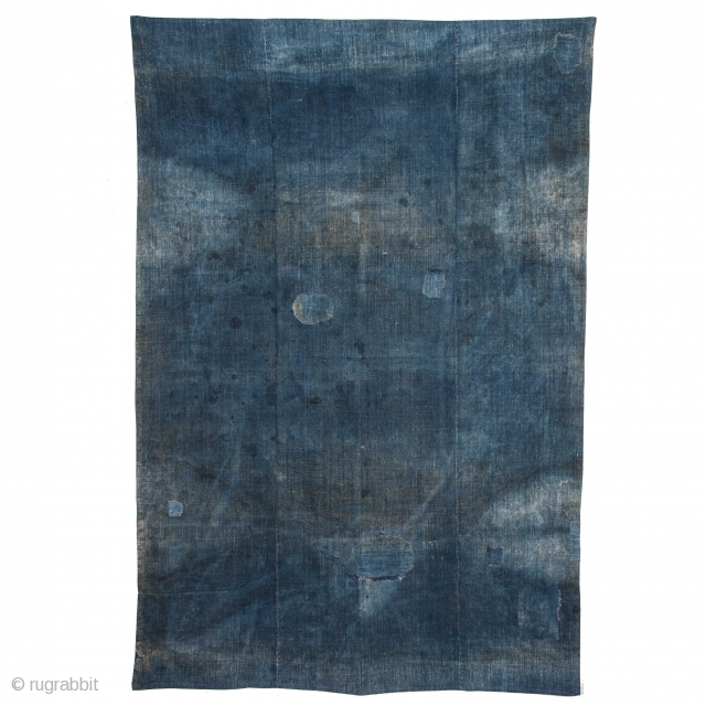 Persian Indigo Blanket top 121 x 182 cm / 3'11'' x 5'11''