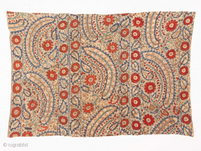 Antique Greek Embroidery Fragment 72 x 105 cm / 28.35 x 41.34 inches