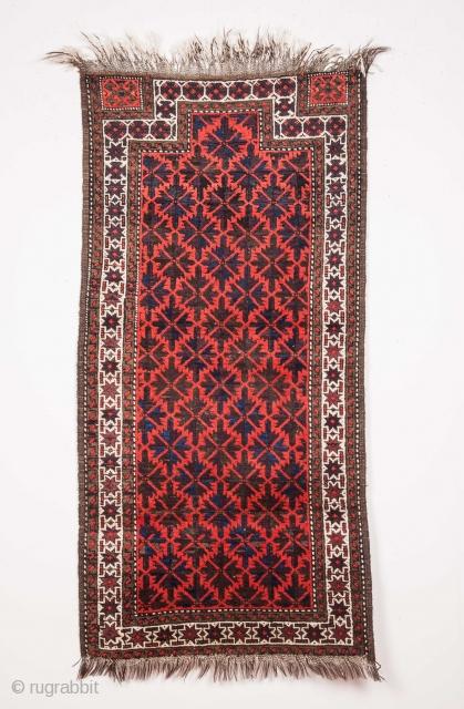 Baluch Rug 66 x 132 cm / 2'1'' x 4'3''