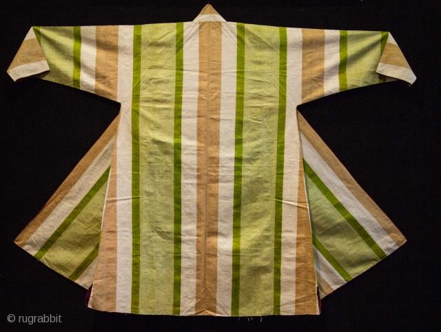 Uzbek Silk Chapan E 20th c.