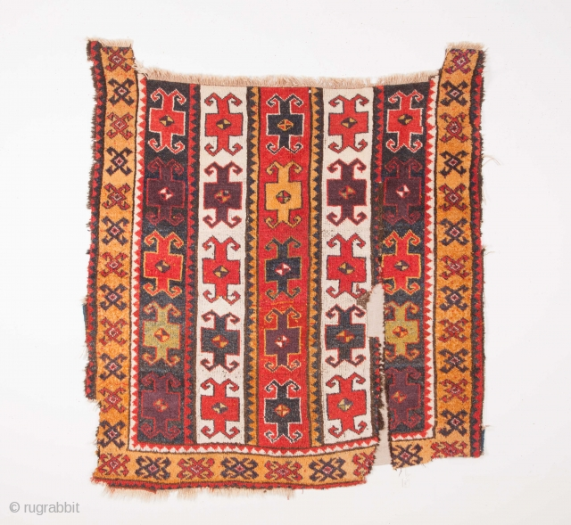 East Anatolian Rug Fragment 132 x 145 cm / 4'3'' x 4'9''