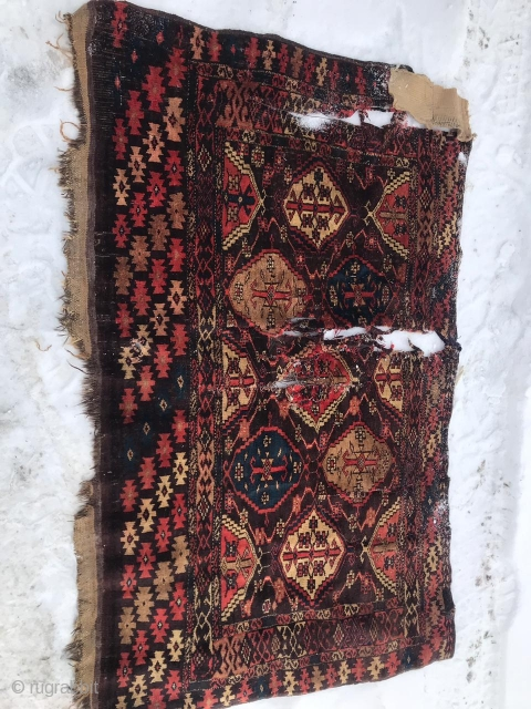 "19th century Choodor chuval 4'1""x2'9""/125x84cm"