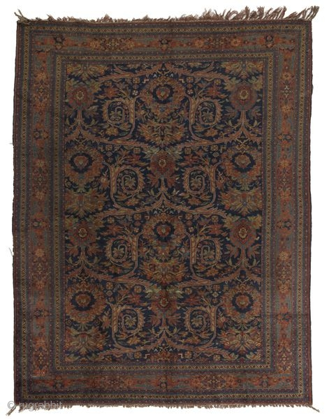 Bijar Kurdi Persian Rug 