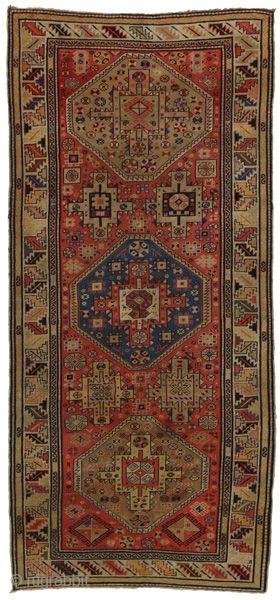 Kazak - Caucasus     Age: More than 110 years old                   Size: 277x128   ...