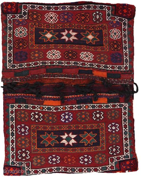 Bakhtiari Saddle Bag 20th century Perfect Condition  More info: info@carpetu2.com