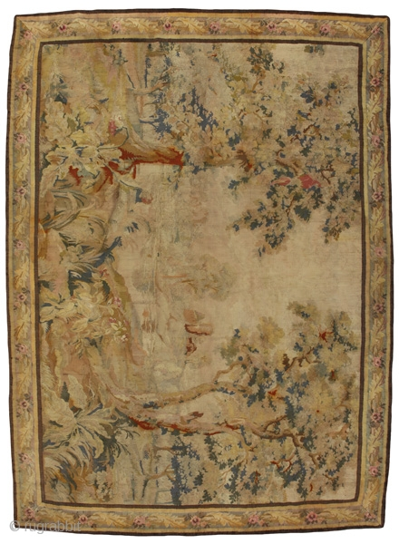 "Tapestry Textile 11'4""x8'4""(347cmx256cm)
