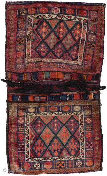 Antique Persian Jaf Saddle Bag . Over 80years. More info https://www.carpetu2.com/