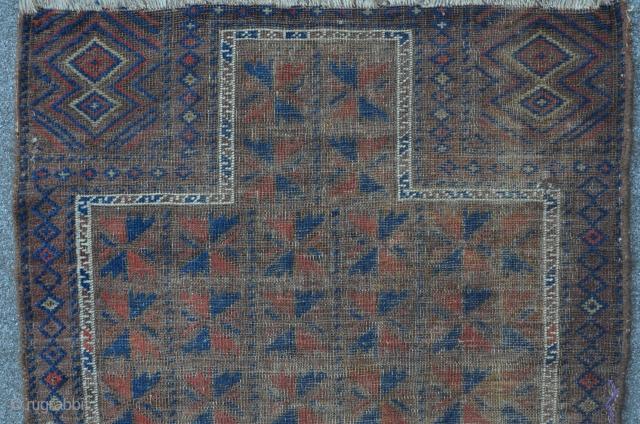 Baluch prayer rug, 124 x 84 cm