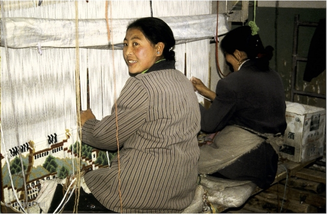 "Lecture in Los Angeles:  Saturday, January 26, 2019, ""Woven Treasures: A History of Tibetan Rugs and Current Production"" with Steve Laska, Founder, Endless Knot Rug Company Petaluma, Ca.,  presented by  ..."