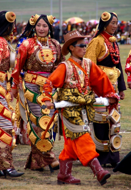 "Saturday, August 26, 2017 10 a.m. Refreshments 10:30 a.m. Program ""Festivals, Fairs & Rituals: Textiles, Costumes and Carpets of the Eastern Grasslands of Tibet"" with Cheri Hunter Photographer, Writer and Tma Program  ..."
