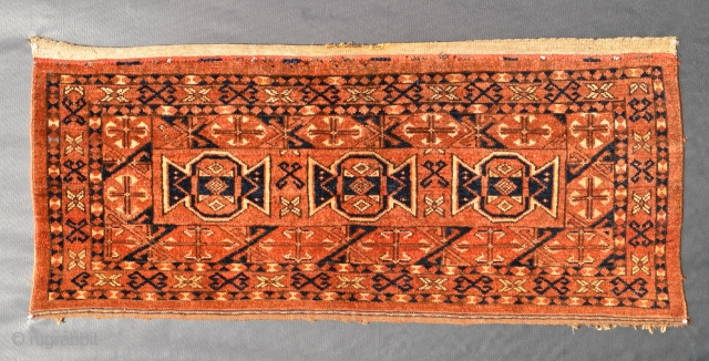 Unusual Tekke or Ersari Torba Chuval