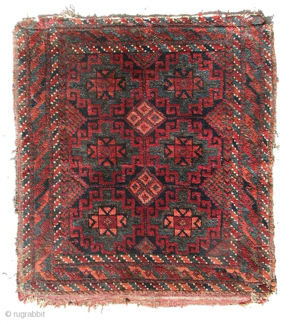 Baluch Bag Face, W. Afghanistan, late 19th C.  Please inquire for further information.