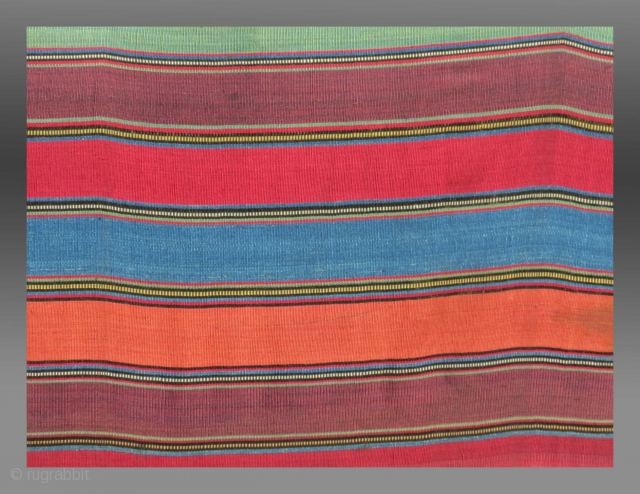 """Shahsevan Silk """"Jajim"""", 19th C.  Please inquire for further images/information"""