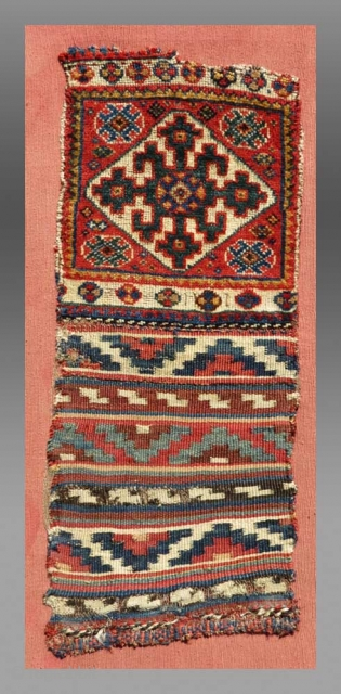 "Luri ""Chanteh"" (personal bag, mounted),West Persia,  19th C.