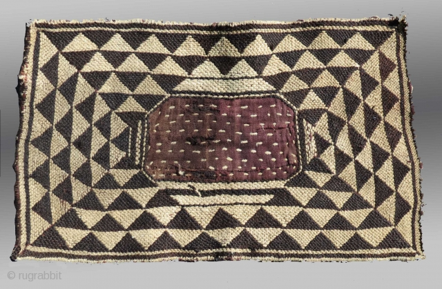 Nomad Weaving, Tibetan Plateau, circa 1900 (or before?)  Please inquire for further information/images